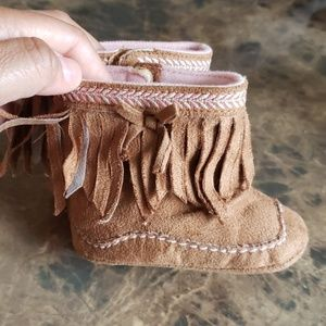 Baby girl moccasins